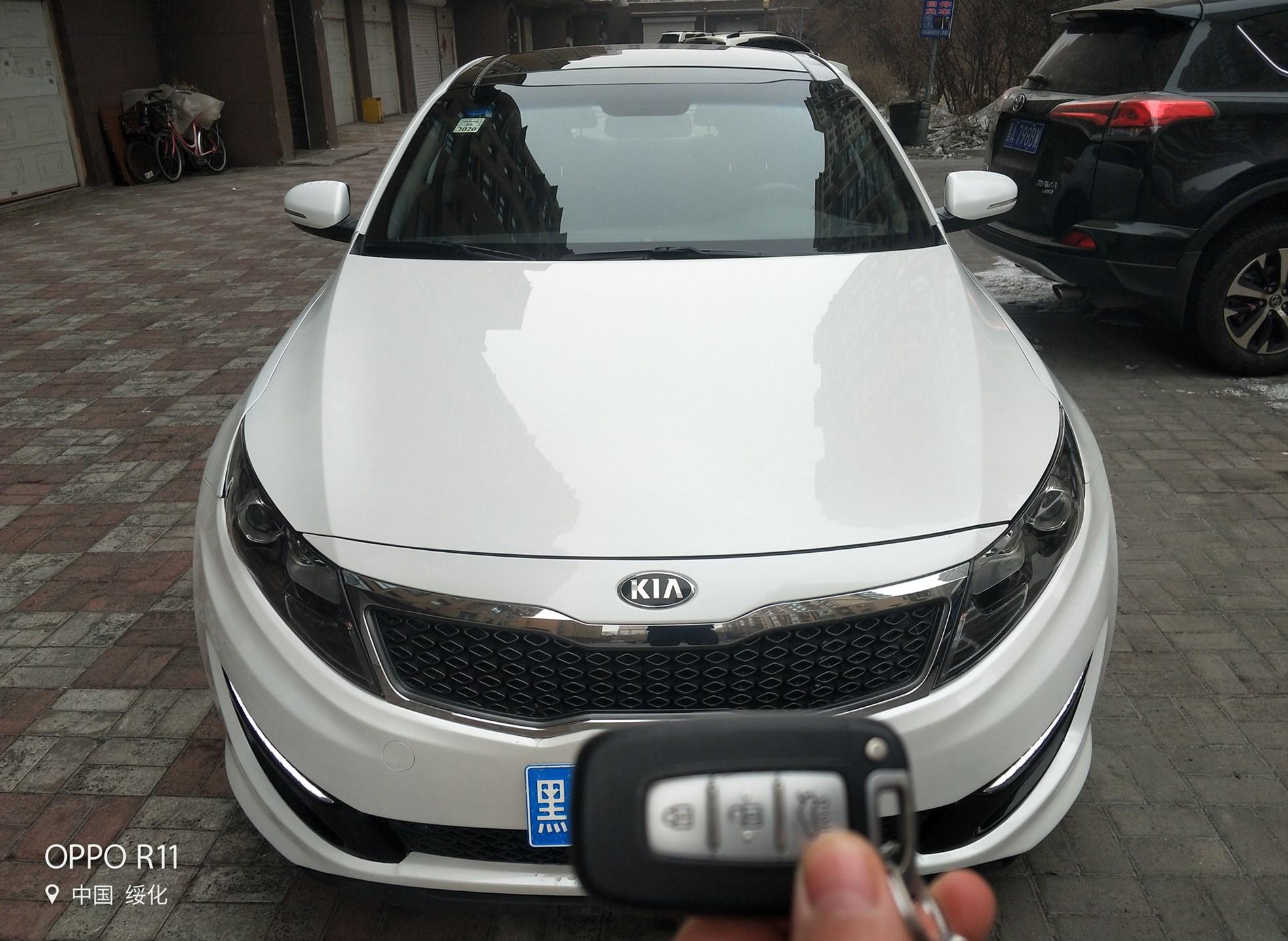 出售2014年起亚K5全车原版2.0顶配全景天窗